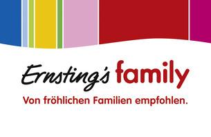 Aktuelle Mode für jeden Tag - schöne Wäsche und vieles mehr in knapp 1.800 Filialen deutschlandweit oder unter www.ernstings-family.com ...