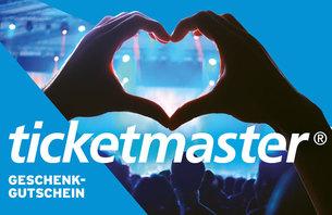 Ticketmaster 100EUR Geschenkcode