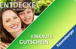 Bei Ravensburger können Sie mit einem Geschenkgutschein Freude schenken! Wählen Sie Ihr Wunschmotiv und verschicken Sie Ihren individuel...