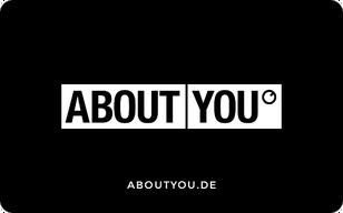 Shoppe mit Deiner ABOUT YOU Geschenkkarte die neuesten Trends und finde unter 300.000 Produkten von mehr als 1.500 Marken den Style, der...