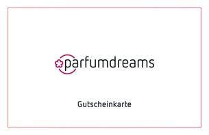 Die Parfumdreams Geschenkkarte - Das perfekte Geschenk für Make-up, Parfum, Plege, Haarkosmetik oder Accessoires!  Die Parfumdreams.de G...