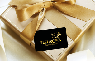 Mit Fleurop macht Schenken besonders viel Freude, denn der Geschenkgutschein für frische, bunte Blumensträuße gebunden von lokal ansässi...