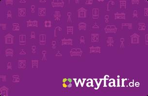 Wayfair.de bietet eine riesige Auswahl an Möbeln, Deko & mehr. Ein Gutschein ist daher genau das richtige Geschenk, um deinen Liebsten e...