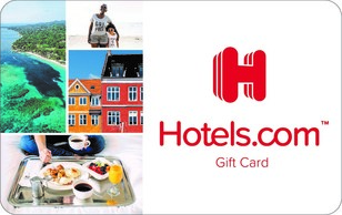 The Hotels.com Gift Card is redeemable towards bookings at hundreds of thousands of places to stay in 200 countries and territories, ran...