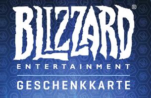 Mit Ihrem Blizzard-Guthaben können Sie digital Blizzard-Spiele, Gegenstände und Dienstleistungen erwerben. Oder verschenken Sie diese Ka...