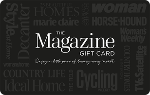 The Magazine Gift Card  A magazine for every passion. From interiors to gardening, fashion to gossip, sports and hobbies to the great ou...