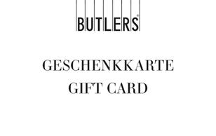 Mit Freu-Garantie: Der Butlers-Geschenkgutschein für alle, die in ihrem Zuhause mit Freude und Phantasie gern neu Akzente setzen. Liebev...