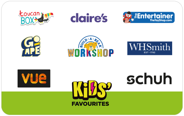 The One4all Kids' Favourites Gift Card is a gift that delivers fun and laughter to the kids in your life. It can be spent at some brilli...