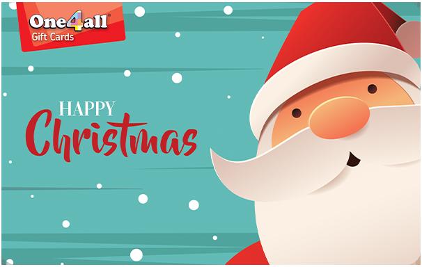 One4all card - Santa