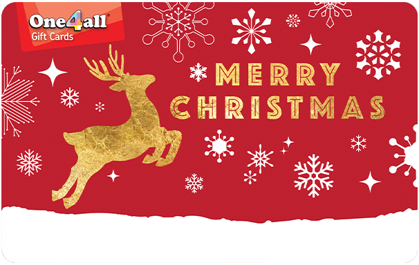 One4all card - Merry Christmas