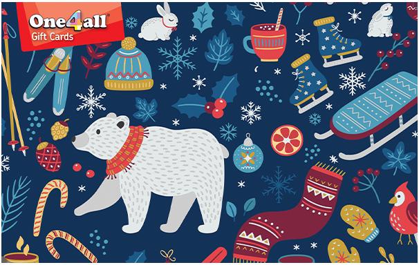 One4all card - Seasons Greetings